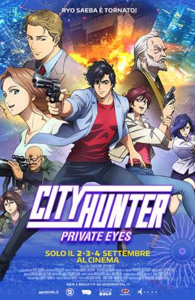 ​CITY HUNTER. PRIVATE EYES