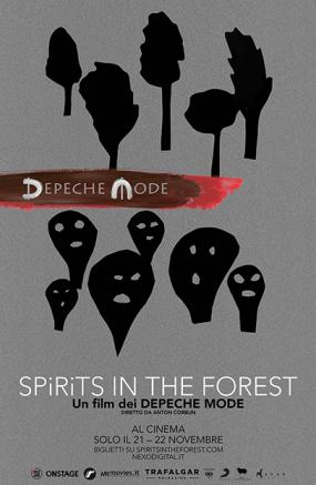 Depeche Mode. Spirits in the forest