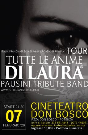 TUTTE LE ANIME DI LAURA- Pausini tribute band