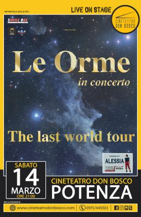 LE ORME - the last world tour RINVIATO A DATA DA DESTINARSI