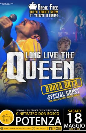 LONG LIVE THE QUEEN - QUEEN TRIBUTE SHOW