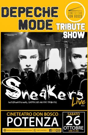 DEPECHE MODE TRIBUTE SHOW - Sneakers in concerto